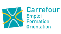 Logo Carrefour Emploi Formation Orientation